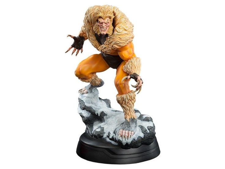 1/4 Scale Premium Format Sabretooth Classic - Marvel Statues, Busts, Prop Replicas Statues