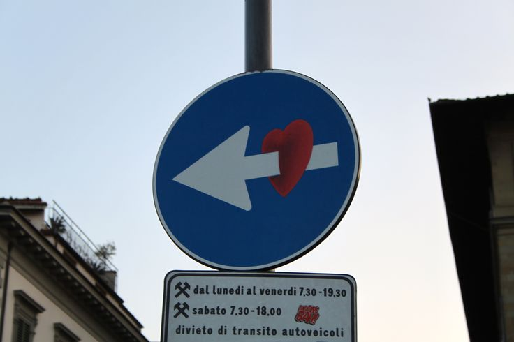Piercing the heart of Florence. #Streetart #Florence  www.madeoftuscany.it