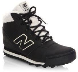 New Balance Q4'17 Leather High-Top Sneakers. Will coop!! #ad #newbalance #shoefreak