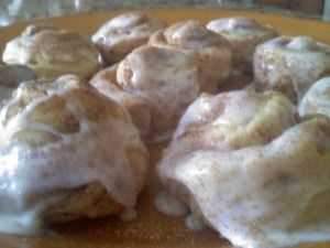 """Just the middles"" Cinnamon Rolls..because they're the best part! :)"