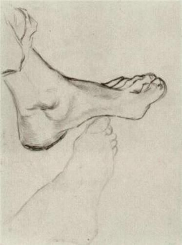 Feet - Vincent van Gogh