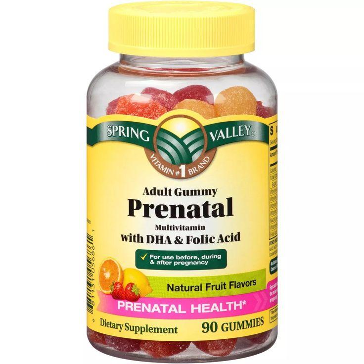 vitaminas prenatales gestantes gomitas tarro 90 unidades