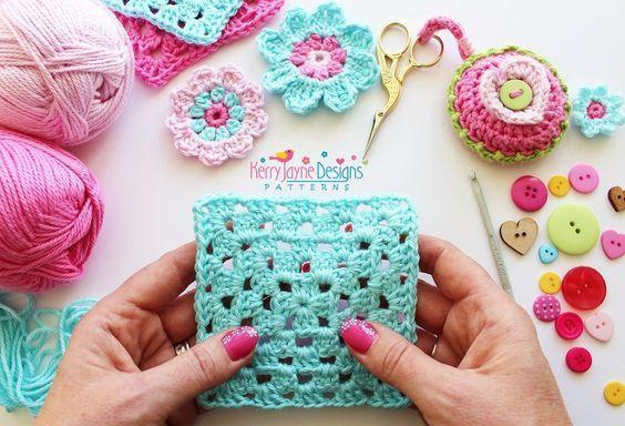 Mejores 53 imágenes de Crochet stitches en Pinterest | Patrones de ...