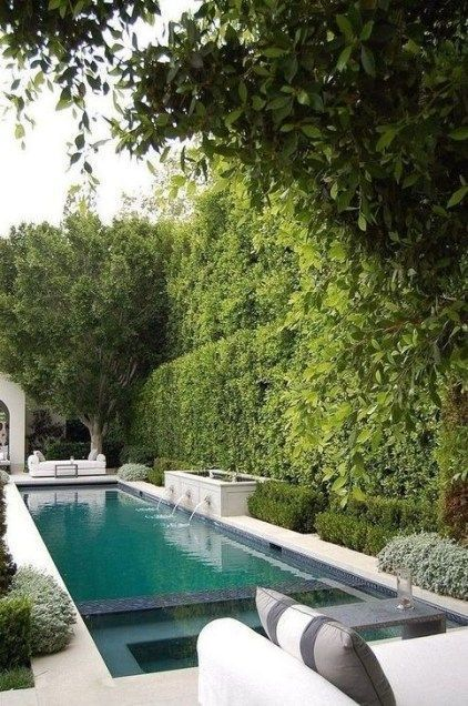 28  Wonderful Small Yard Designs Concepts With Pool