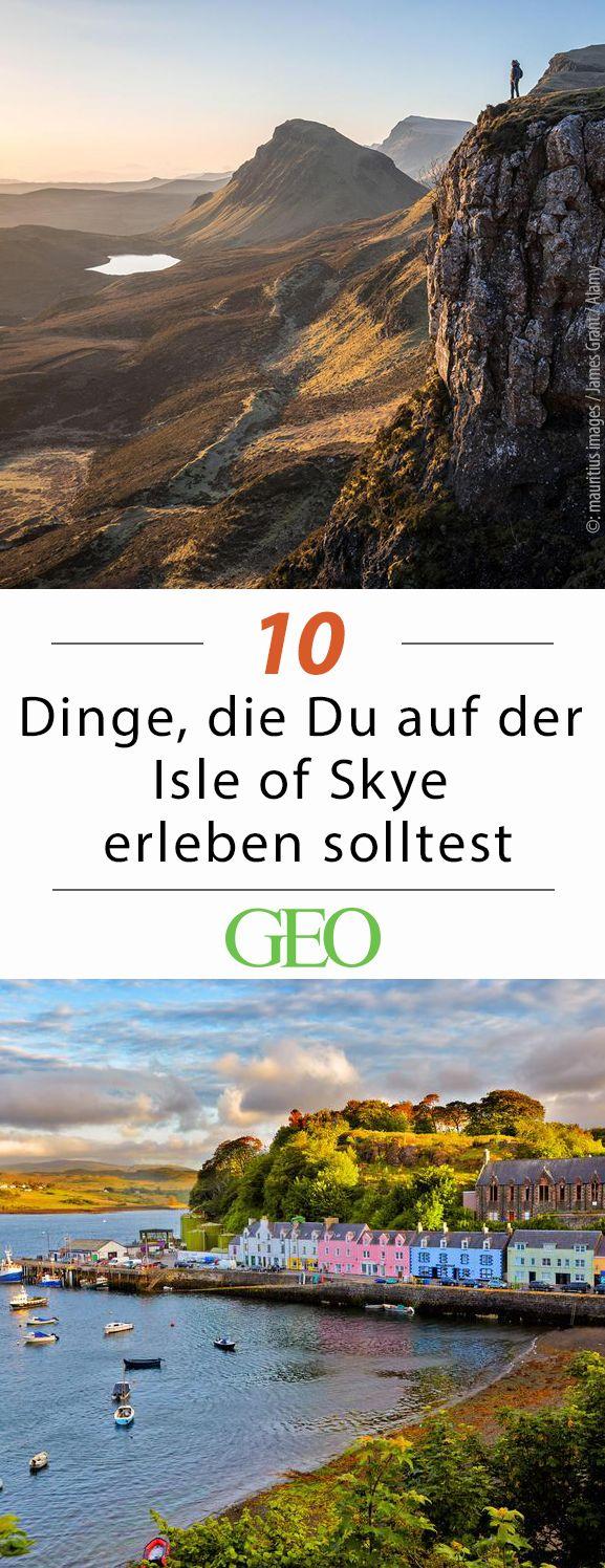 Schottland: Zehn Dinge, die Sie auf der Isle of Skye erleben sollten