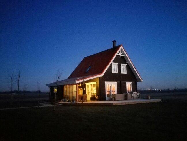 Ons houten huis......
