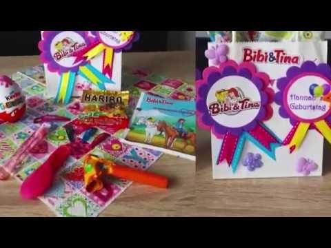 DIY - Bibi & Tina - Mitgebseltüte für Kindergeburtstag - Kinderschminken Kleine Geschenke für die Gäste sind auch auf Kindergeburtstagen ein besonderes Highlight. Diese Mitgebseltüten können auch passend zu einem Motto-Geburtstag gestaltet werden. KunterbuntBerlin zaubert für jeden Kindergeburtstag die passenden Mitgebsel. Sehen sie hier, wie die Gastgeschenke für eine Bibi & Tina -Party Party entstehen. mehr auf: www.kunterbuntberlin.de