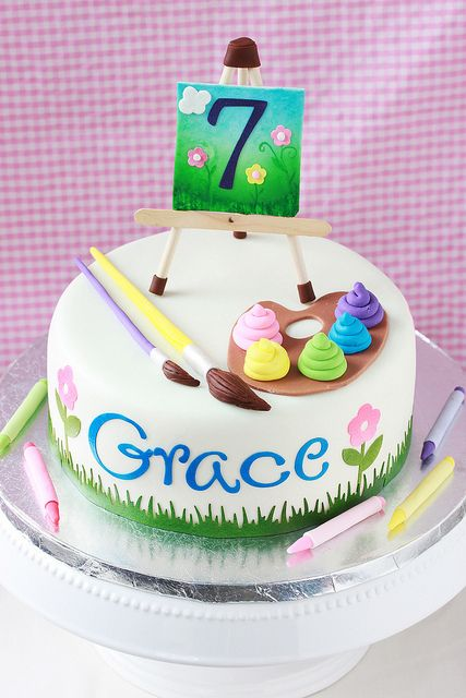 Art Supply Cake | Flickr - Photo Sharing!