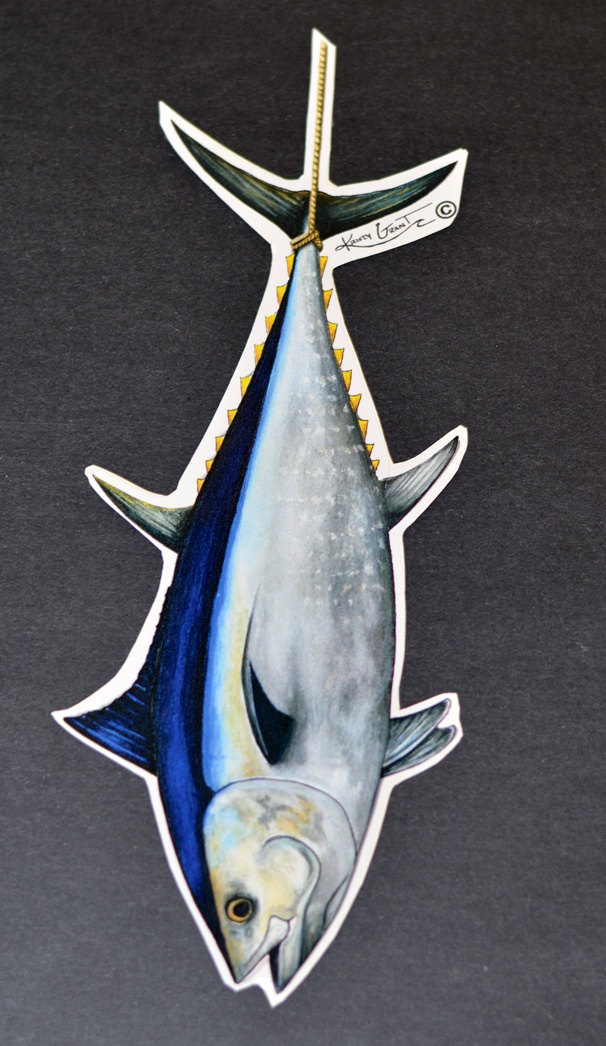 Best Fish Art Images On Pinterest Fishing Stuff Fishing - Blue fin boat decals
