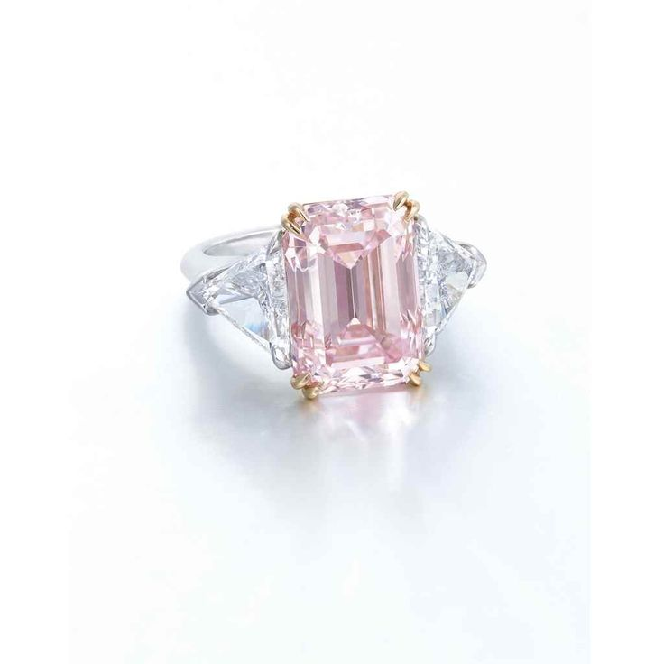 Christie's HK, 9.07 carats fancy intense pink, IF, type IIa, in Harry Winston setting, sold for $12,634,508, June 2, 2015