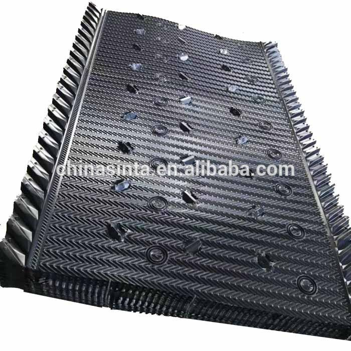 1220 1850mm Evaporation Cooling Pad Material Pvc Fill Cooling