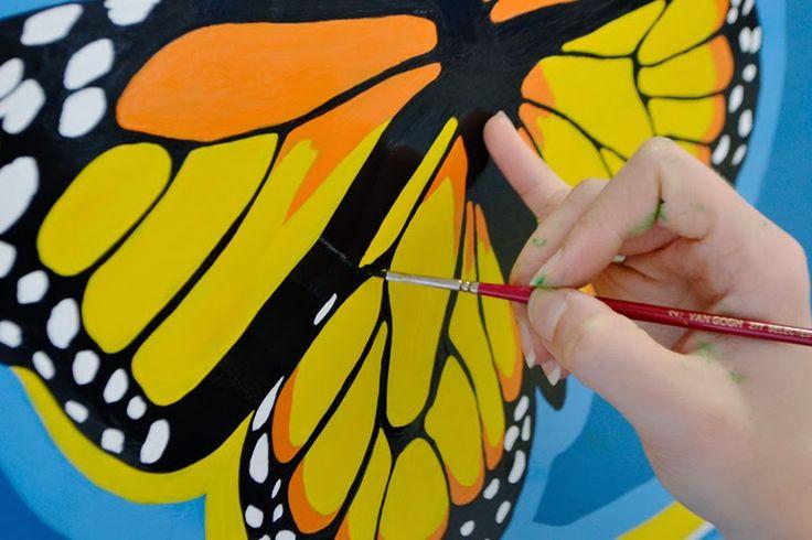 Marthazul: Pintando Trotamundos