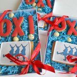 national OXI day cookies