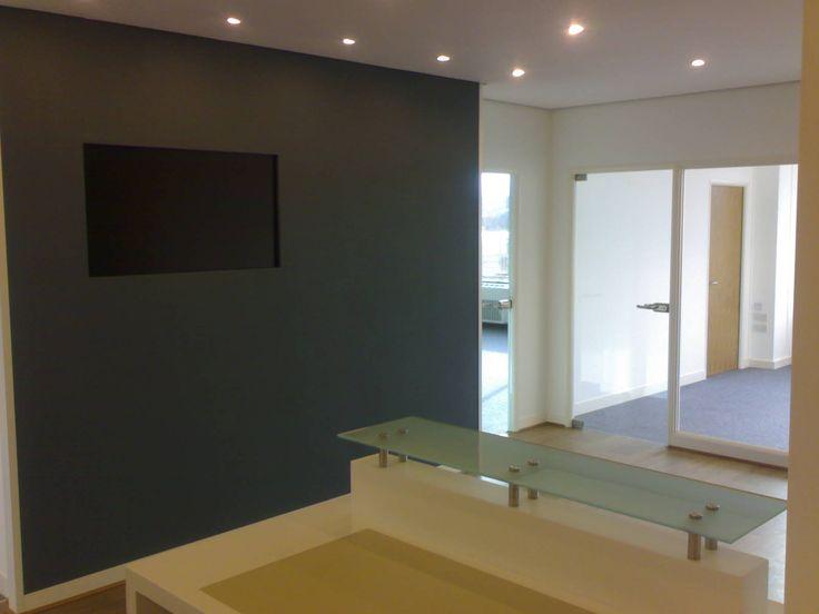 Sheffield architects reception media wall