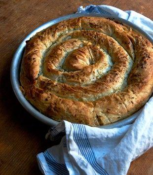 Spinach, fetta & ricotta pie | Karen Martini