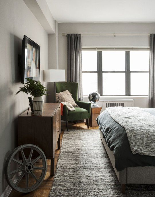 Moody & Masculine in Manhattan — Professional Project - Apartment Therapy Main