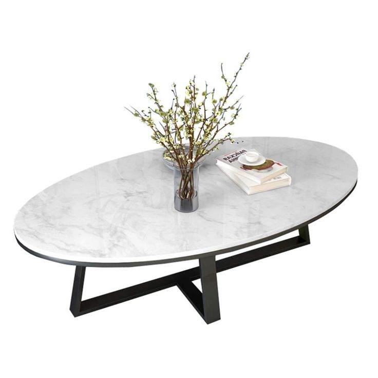 oval marble coffee tables for living room white l modern