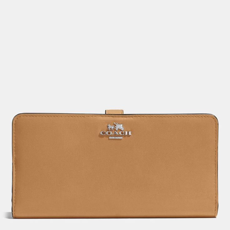 COACH Madison Skinny Wallet in Leather