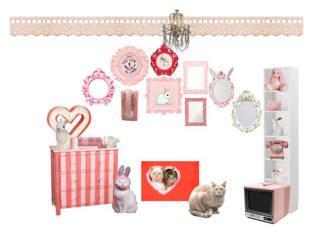 Bunnyboo and kitten too by lethal lo lee ta on for Ta home decor