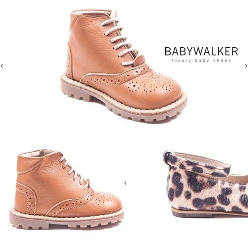 BABYWALKER luxury shoes AW2015