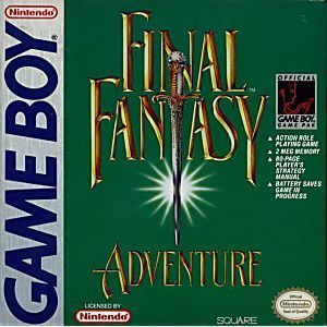 Complete Final Fantasy Adventure - Game Boy