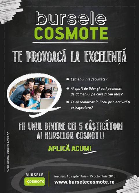 Bursele de la Cosmote România susţin tinerii studenţi
