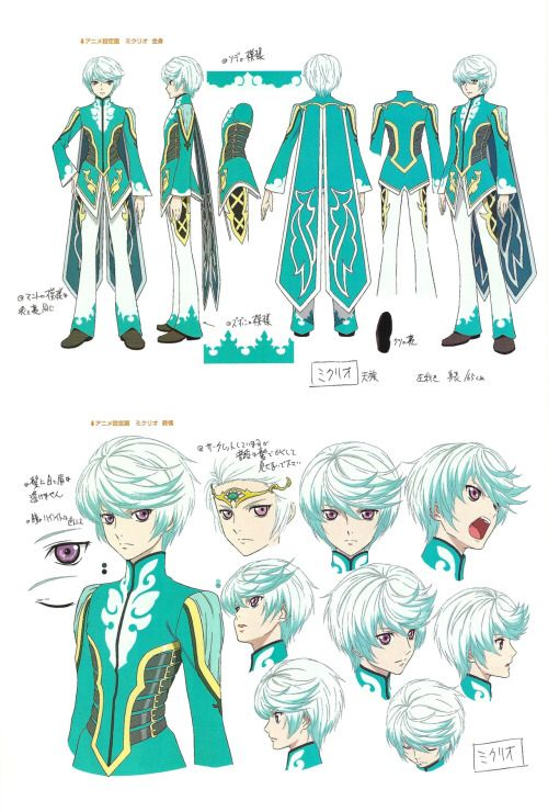 I am obsessed with the idea of his costume as a contest piece - Mikleo, Tales of Zestiria
