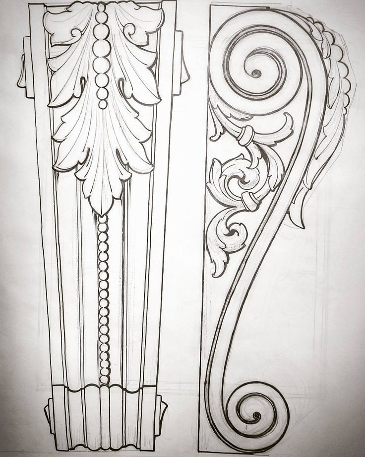 Best wood carving patterns drawings images on