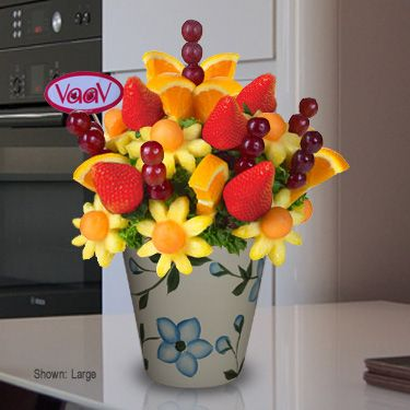 Daisy Pineapple With Orange - ORDER NOW - www.VaaV.ca