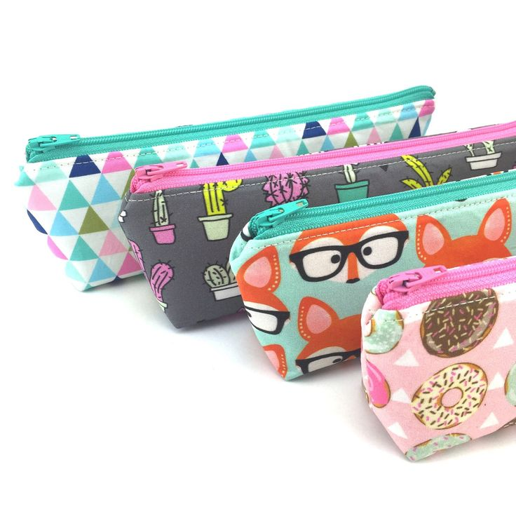 Super cute pencil cases now available!