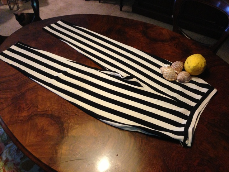 Cacharel silk and stripes