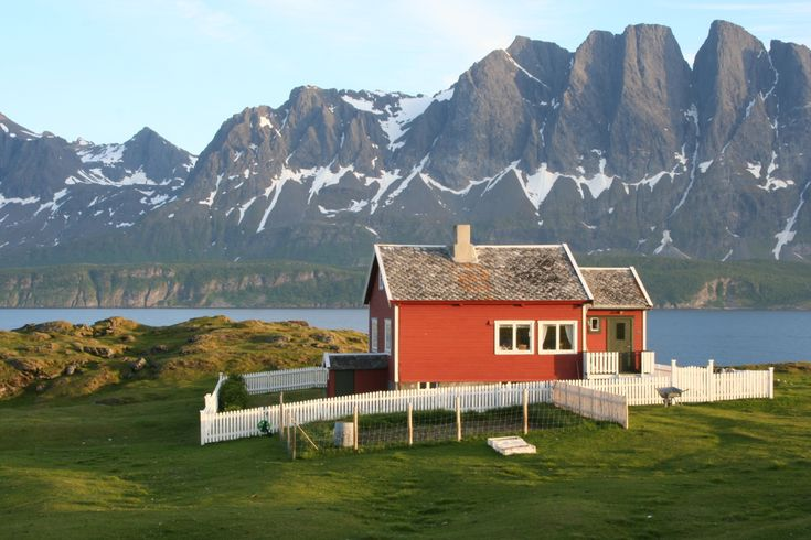 Norway: Dreams Home, Dream Homes, Future House, Islands, Cabins Fever, By Ivar Bjorklund, Mountain House, White Picket Fence, Northern Norway