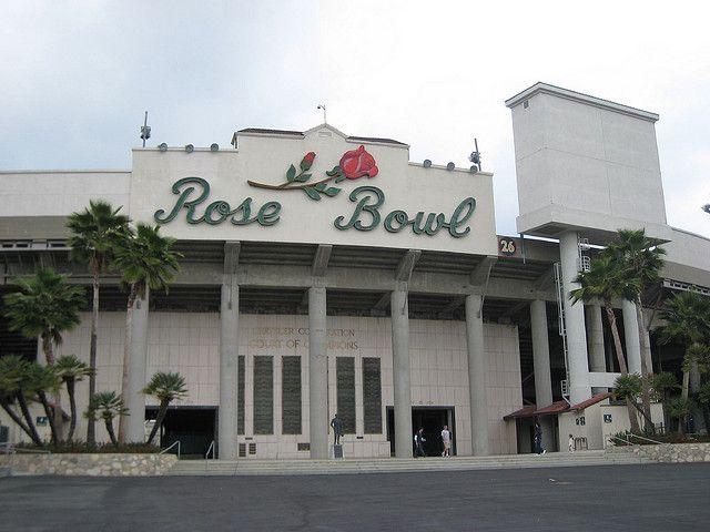 the rose bowl, pasadena, ca