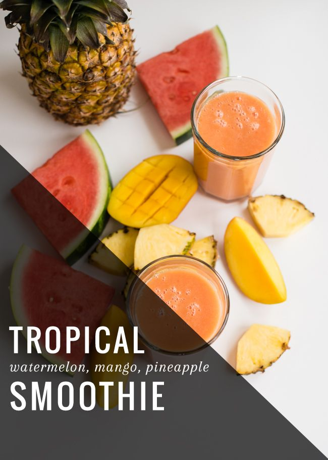 Healthy Watermelon Smoothie | Henry Happened
