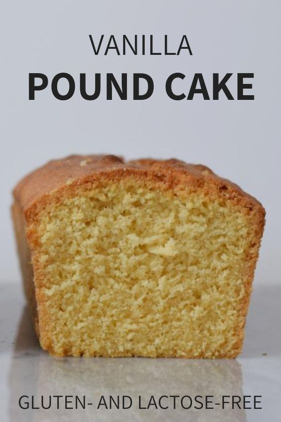 A basic recipe for a gluten-free and low FODMAP pound cake. A simple vanilla cak…