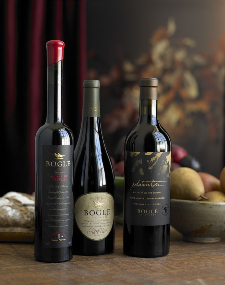 Bogle | Wine Label Design by Auston Design Group