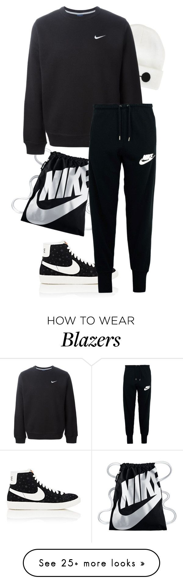 """""""Untitled #237"""" by n23da on Polyvore featuring NIKE and Disney"""
