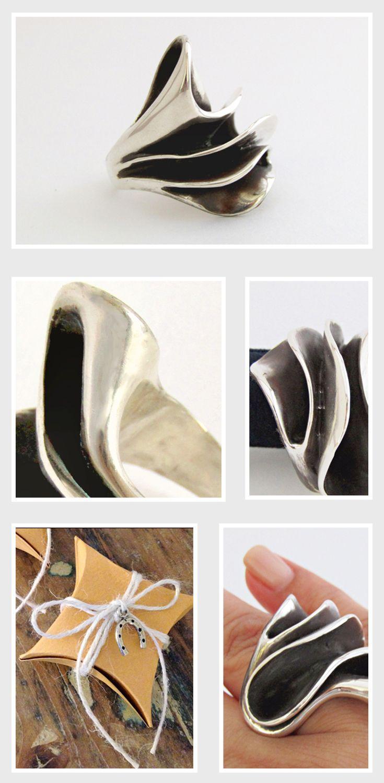 Customer Favorite handmade silver ring!