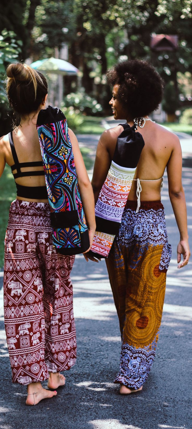 A beautiful new way to carry your yoga mat everywhere you go! Check out all new Yoga mat straps and yoga mat bags at - https://www.onetribeapparel.com/collections/yoga-mat-bags