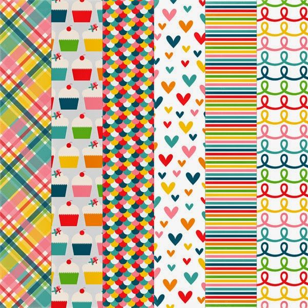 Free Printable Pattern Paper Pack from Harper Finch
