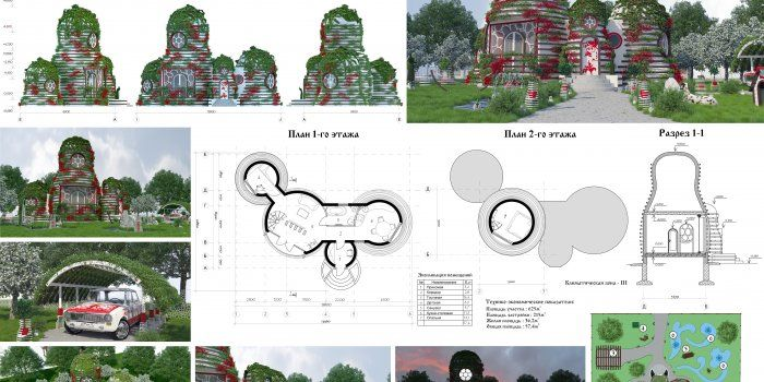 Всероссийский конкурс инновационных архитектурных проектов «Архитектурный образ…
