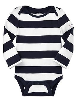 Long-sleeve bodysuit - would look so cute with a monogram!