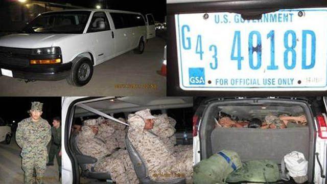 13 Illegal Immigrants Arrested in California Wearing U.S. Marine Uniforms .............. http://www.foxnews.com/us/2011/03/22/report-13-illegal-immigrants-apprehended-marine-uniforms/