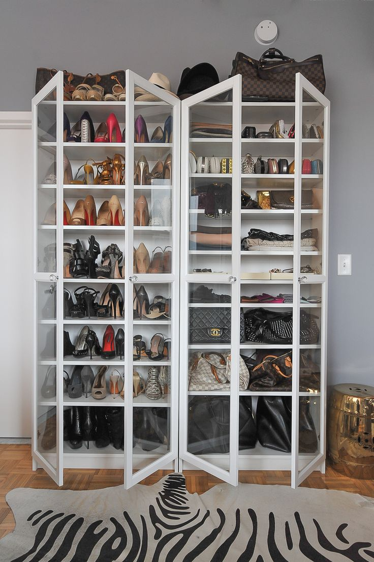 How to curate a glamorous wardrobe. . .on a budget! — The Decorista- ikea billy bookcase