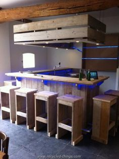 Pallet Bar Furniture More                                                                                                                                                                                 Más