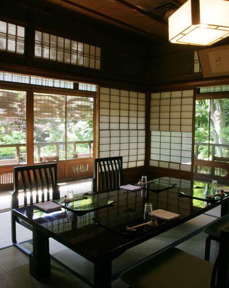 紅葉の間|建物、茶室、個室|京都 料亭 京大和