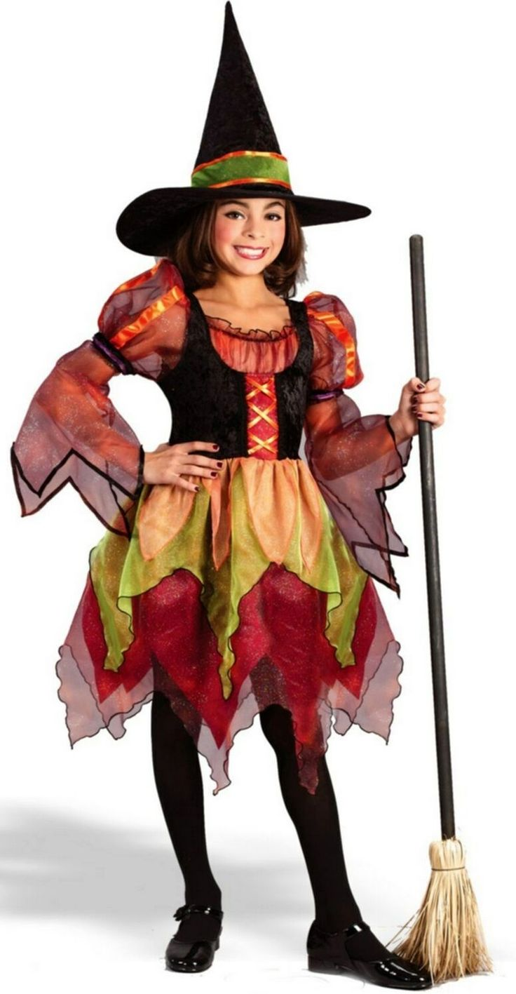 Fairy Witch Kids Costume