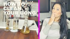 How to Clean a Bong | 5 Minute Tips Video http://thestonermom.com/how-to-clean-a-bong/