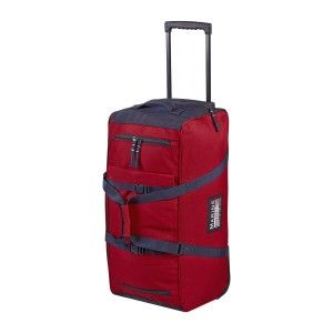 Marinepool Classic Wheeled Bag Segel-Trolley Reisetasche 90l rot