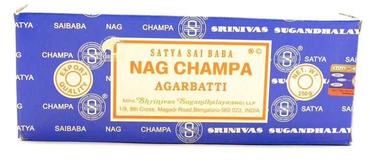 Original Satya Sai Baba Nag Champa Incense & Oil Collection